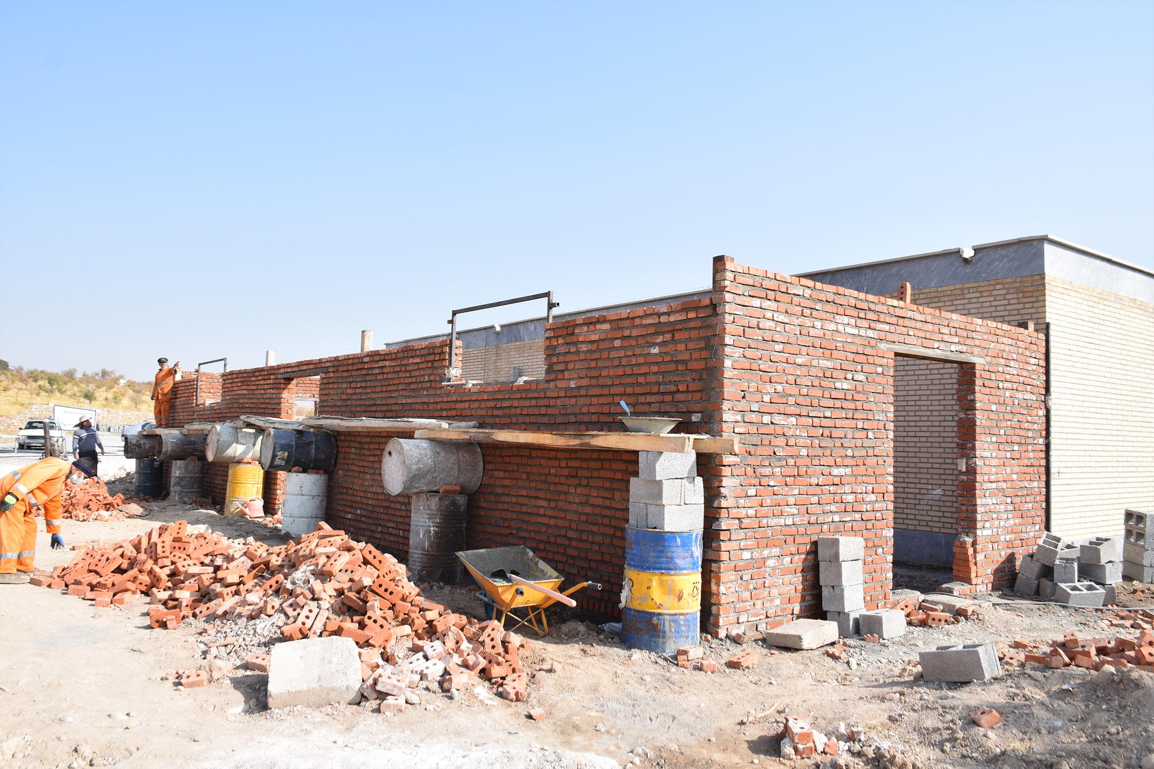 ساخت غسالخانه ویژه فوتی های کرونا توسط شهرداری مراغه