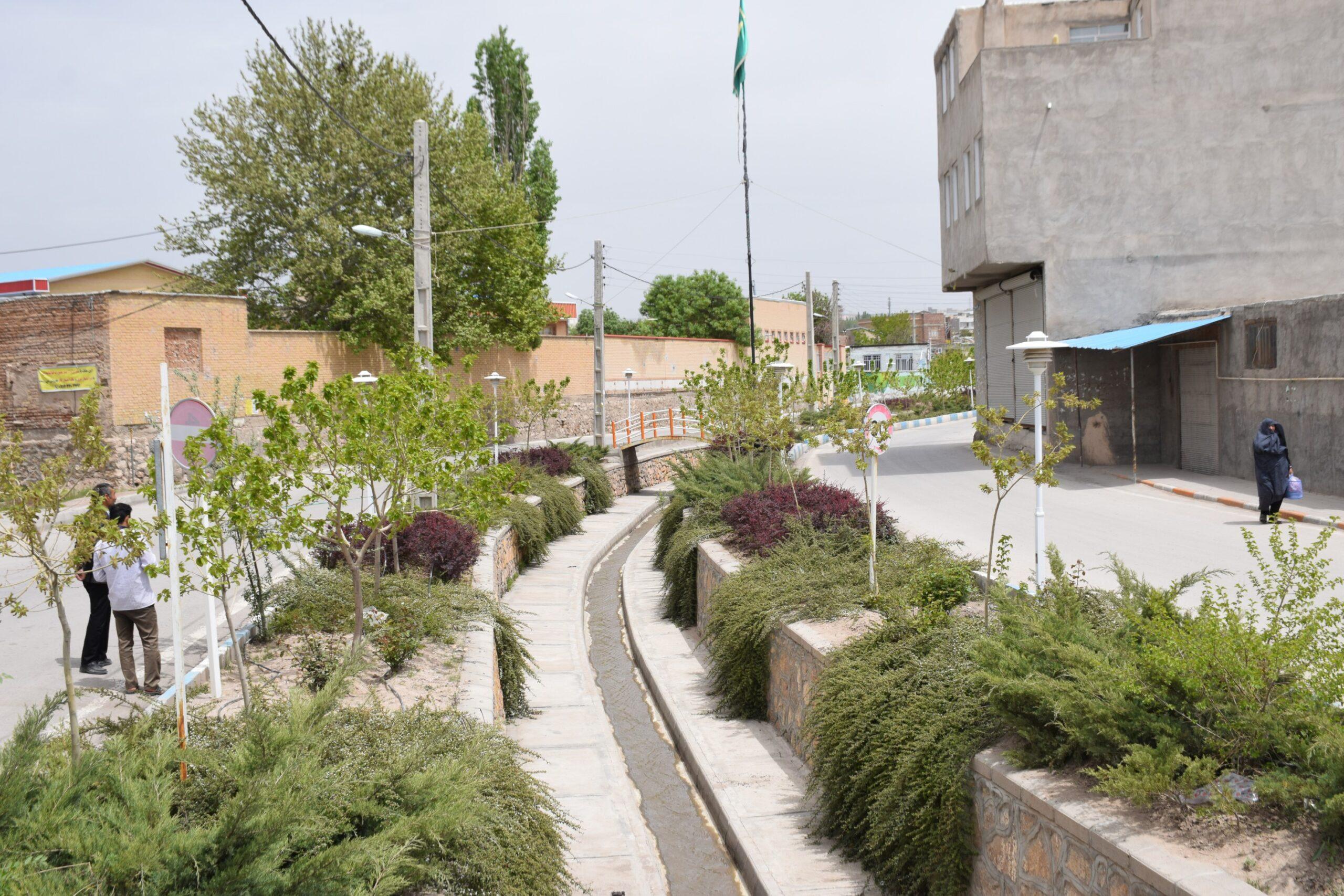 بهسازی و ساماندهی محله انزاب